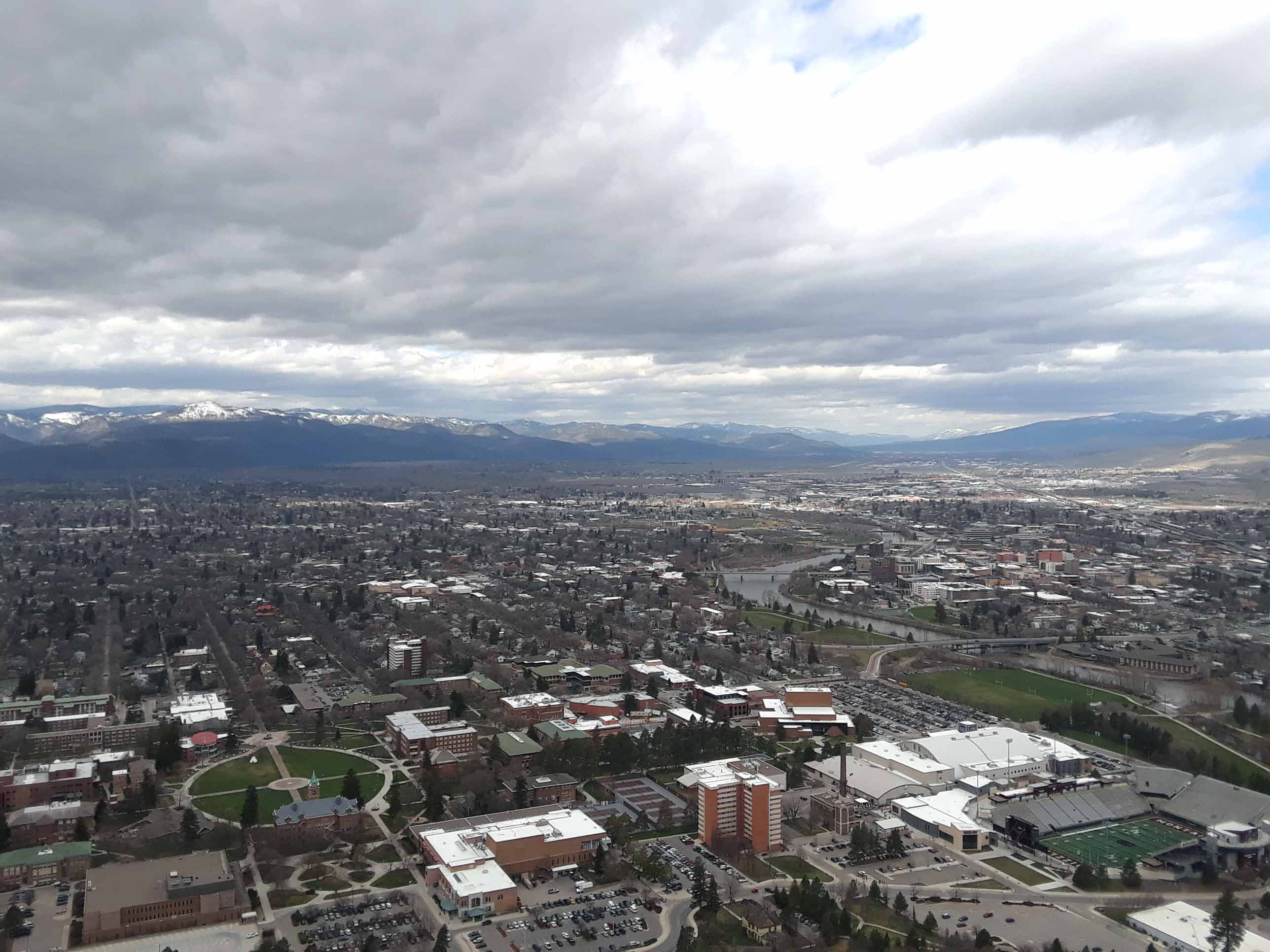 Sential Mountain is a quick hike accesible from downtown Missoula